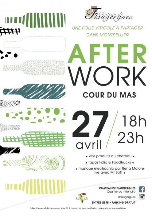 Affiche afterwork 27/04