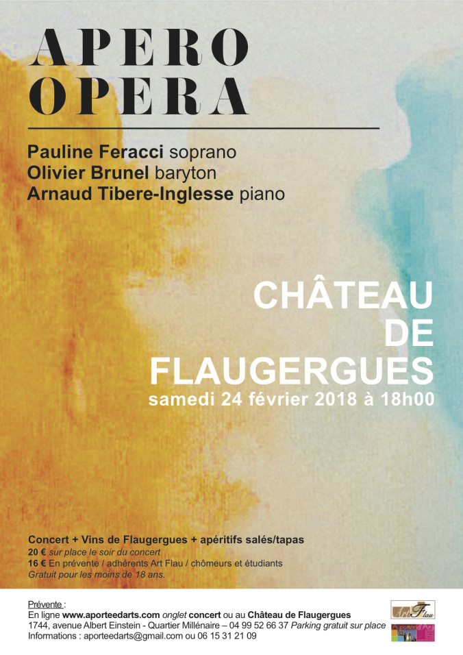 Affiche Apéro Opéra