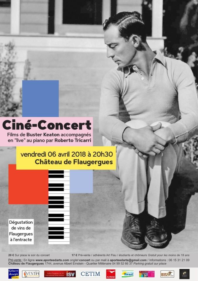 Affiche Ciné concert Mail