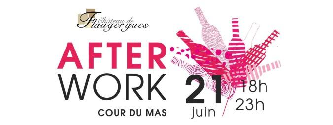 Affiche Afterwork Juin 2018 Bandeau Facebook